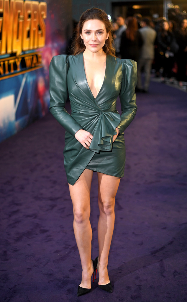 Elizabeth Olsen, Avengers: Infinity War, Premiere