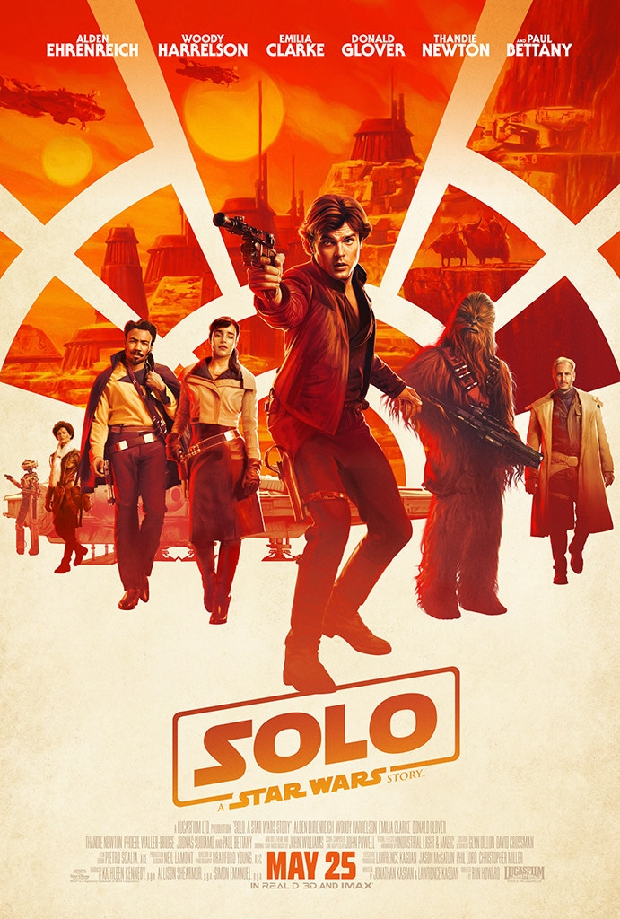 Solo: A Star Wars Story, poster