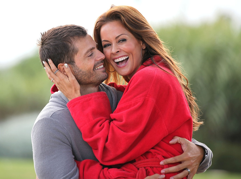 Brooke Burke & David Charvet -  The parents of two (plus two daughters from Burke's first marriage) were together for12 years and married for seven. Calling it an amicable split, the pair  quietlystarted divorce proceedings  in April.