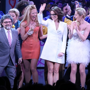 Jeff Richmond, Tina Fey, Casey Nicholaw, Mean Girls on Broadway