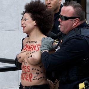 Protester, Bill Cosby Trial