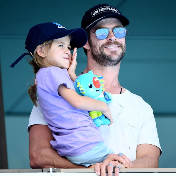 Chris Hemsworth, India Rose Hemsworth