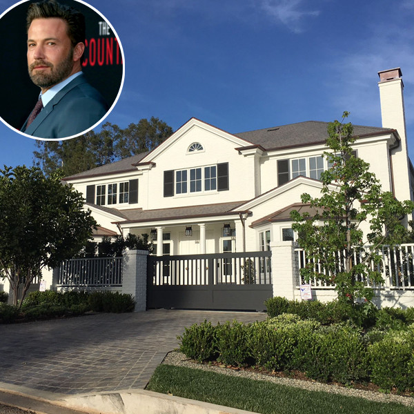 Ben Affleck, Pacific Palisades Home