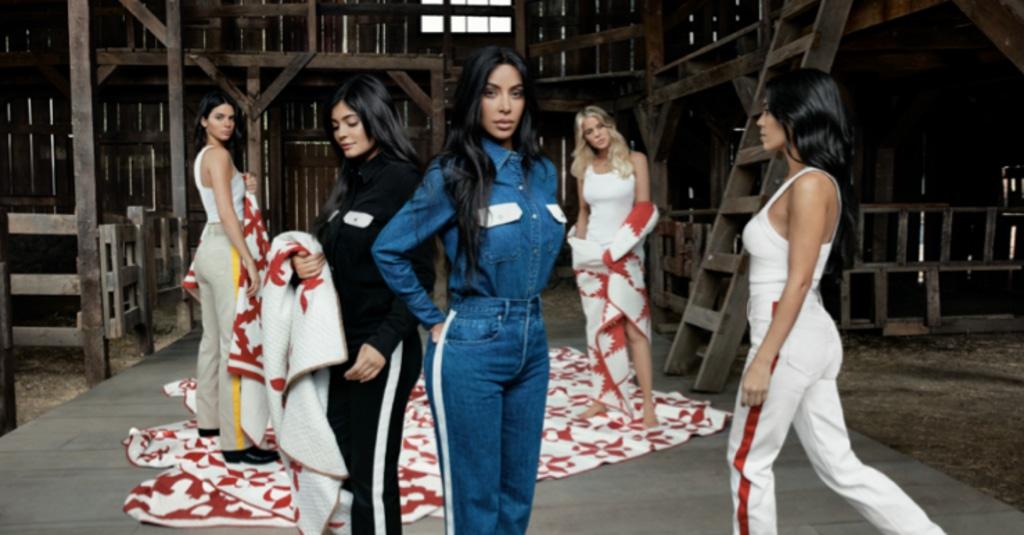Campaña Calvin Klein, Kardashian, Jenner