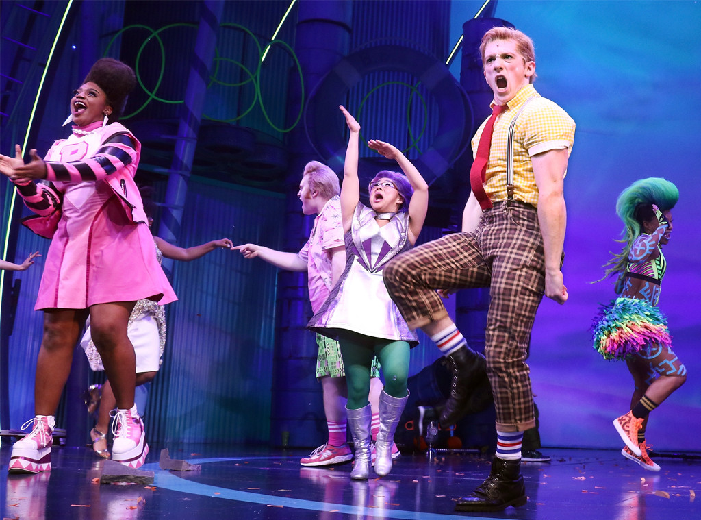 Spongebob Squarepants Broadway Cast