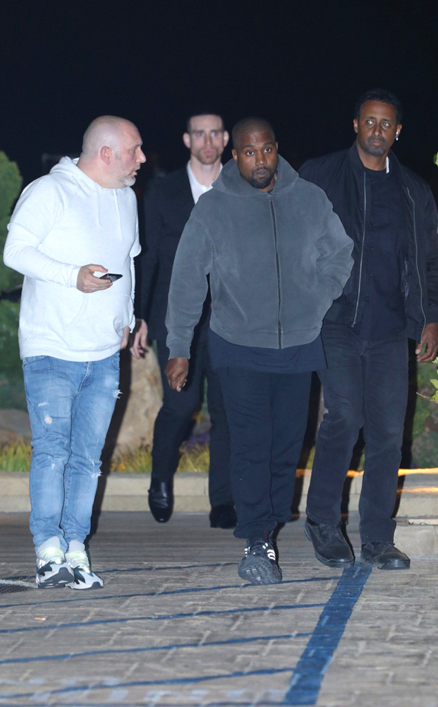 Kanye West Surrounds Himself With Bodyguards Amid Crips Gang Threat