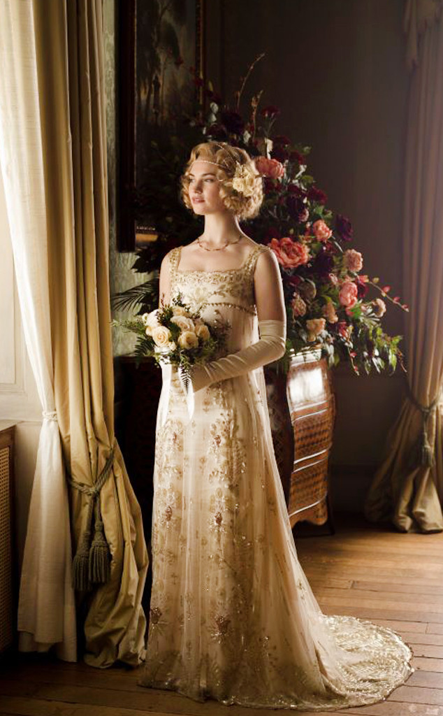 ESC: Best TV/Movie Weddings, Downton Abbey, Lily James
