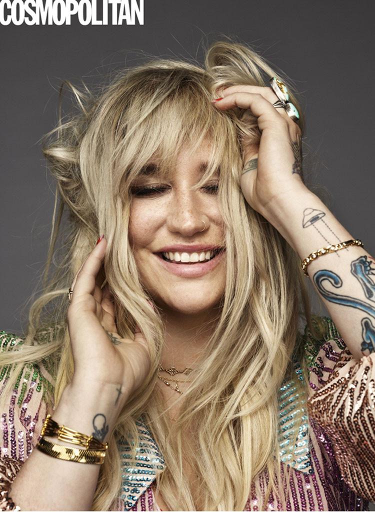 Kesha, Cosmopolitan, 2018