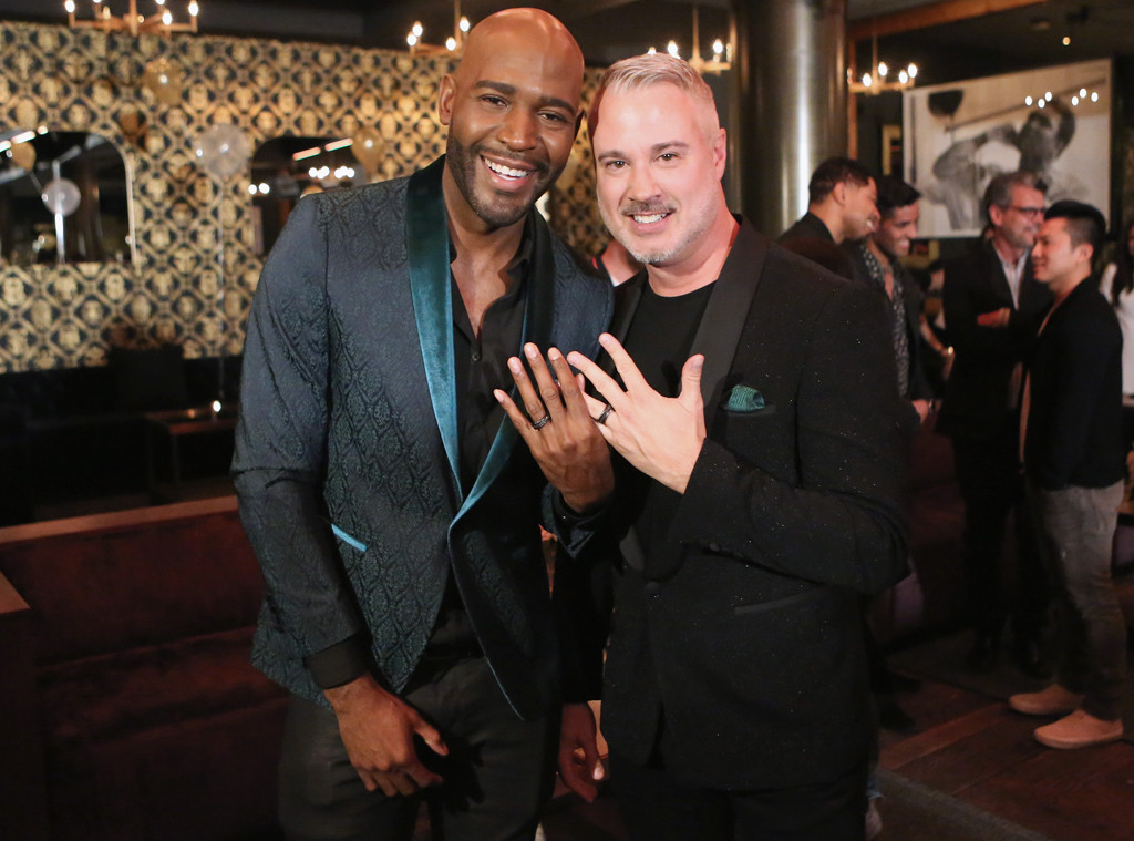 Karamo Brown, Ian Jordan, Engagement