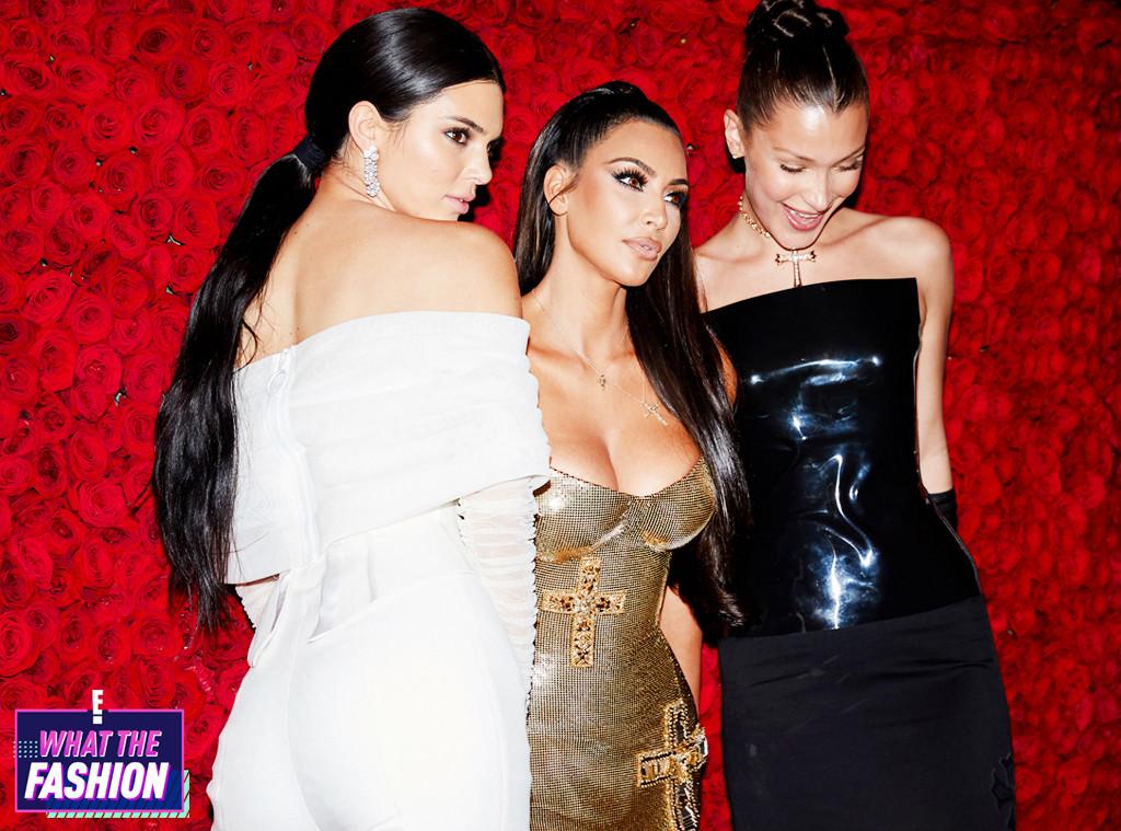 ESC: WTF, Met Gala 2018, Kendall Jenner, Kim Kardashian West and Bella Hadid