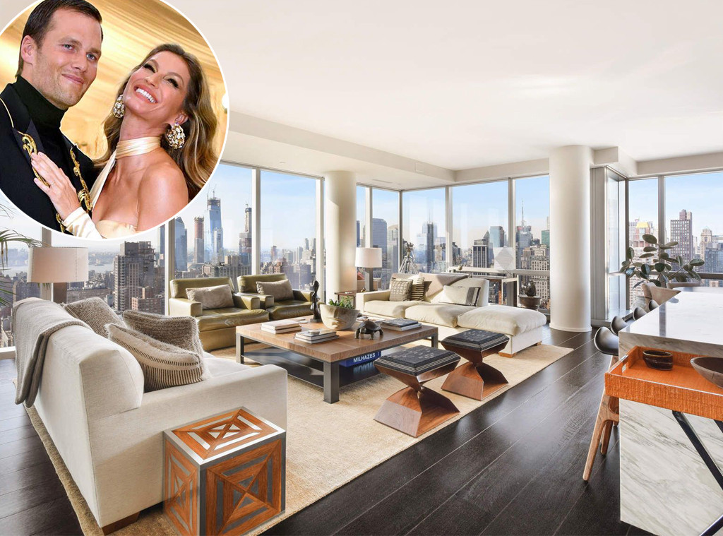Tom Brady, Gisele Bundchen, New York apartment