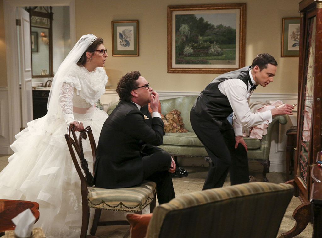 Sheldon And Amy Wedding.The Big Bang Theory Finale Sheldon And Amy Finally Got Married E
