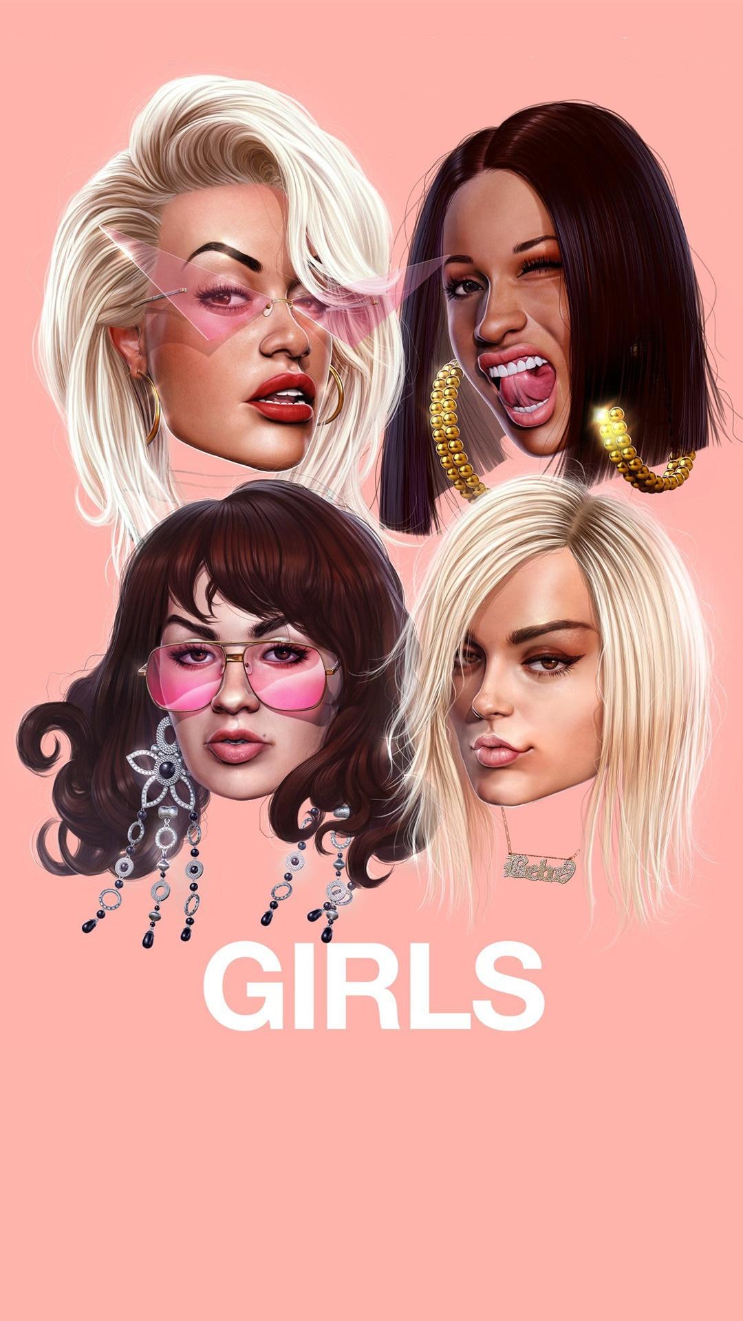 Rita Ora, Cardi B, Bebe Rexha, Charli XCX, Girls