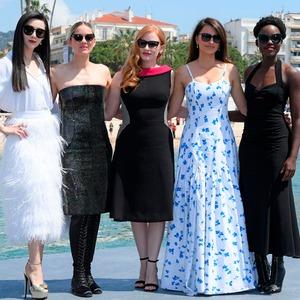 Fan Bingbing, Marion Cotillard, Jessica Chastain, Penelope Cruz, Lupita Nyong'o, 2018 Cannes Film Festival