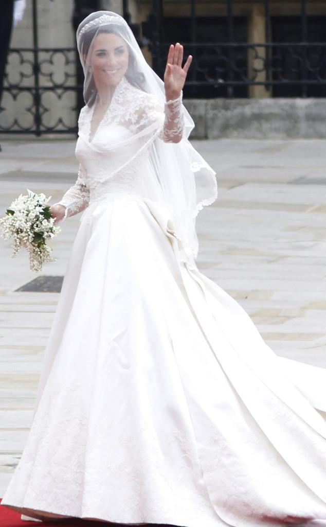 The Evolution of the Royal Wedding Dress | E! News