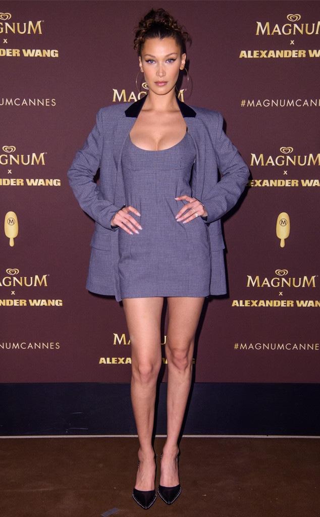 Bella Hadid, 2018 Cannes Film Festival, Magnum x Alexander Wang party