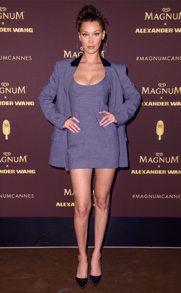 Bella Hadid, 2018 Cannes Film Festival, Magnum x Alexander Wang party