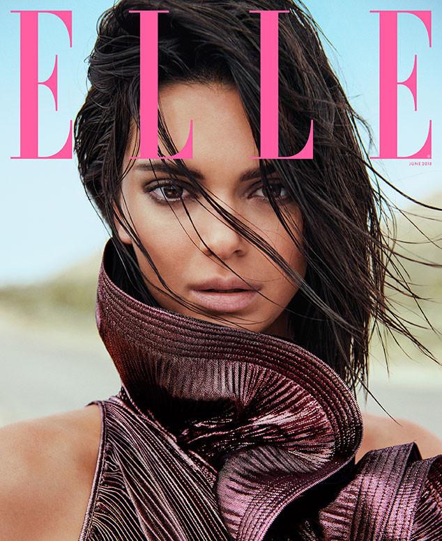 Kendall Jenner, Elle, June 2018