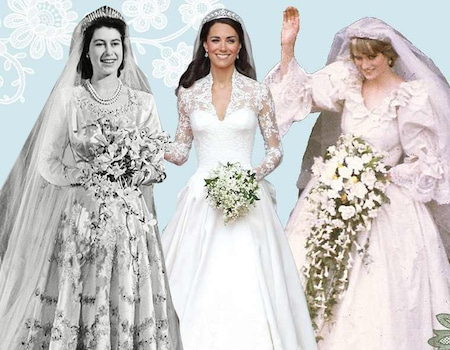 The Evolution of the Royal Wedding Dress