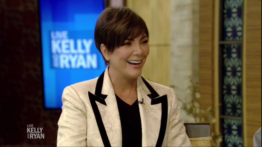Kris Jenner, Live With Kelly and Ryan