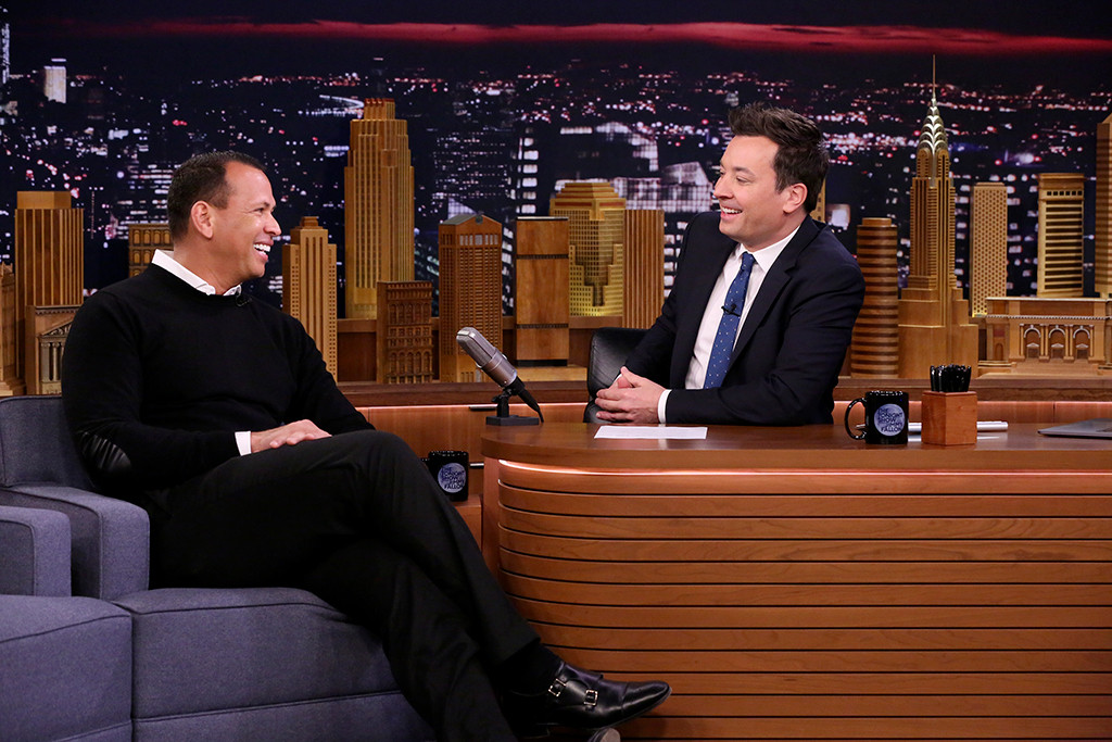 Alex Rodriguez, The Tonight Show, Jimmy Fallon