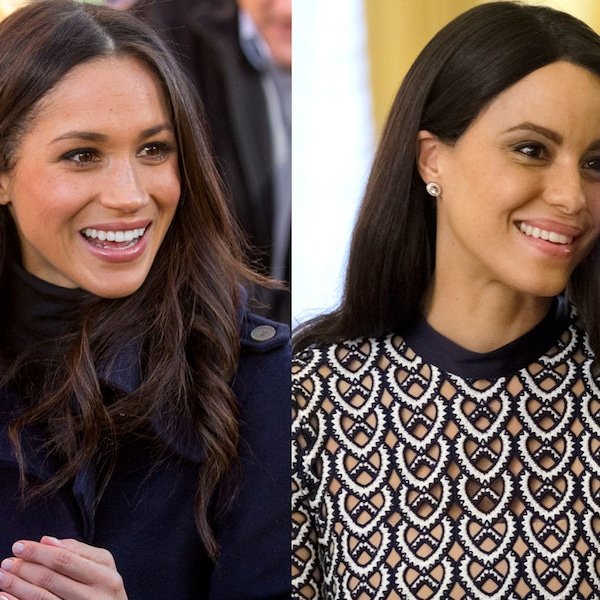 Parisa Fitz-Henley As Meghan Markle From Lifetime's Harry