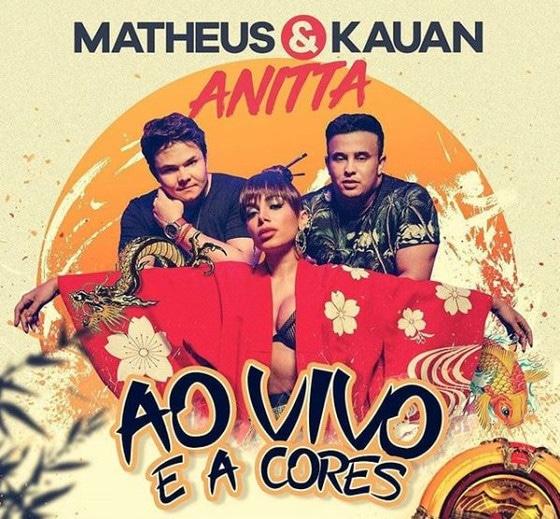 Anitta, Matheus e Kauan
