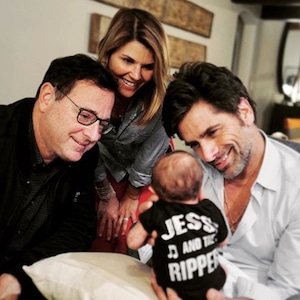 Bob Saget, Lori Loughlin, John Stamos, Billy Stamos