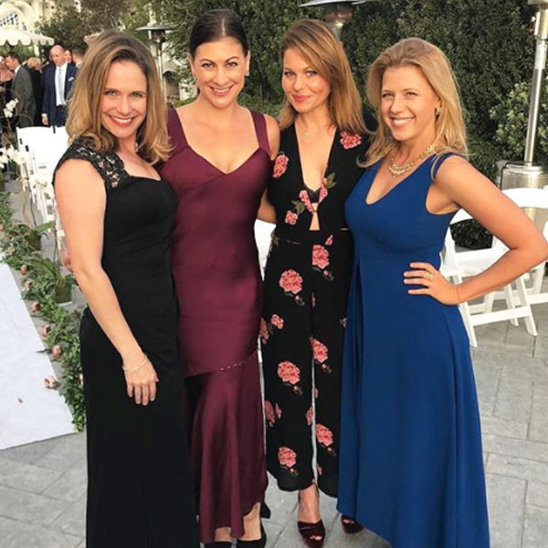 Candace Cameron Bure, Jodie Sweetin, Andrea Barber