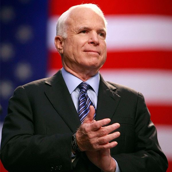 Presidents, lawmakers laud McCain for devotion to country