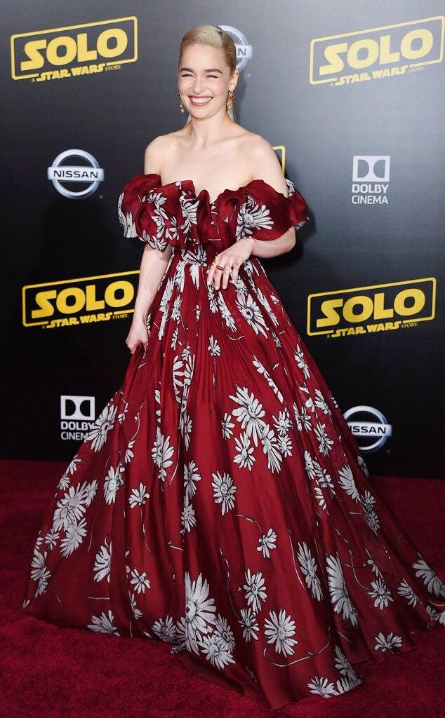 ESC: Best Dressed, Emilia Clarke