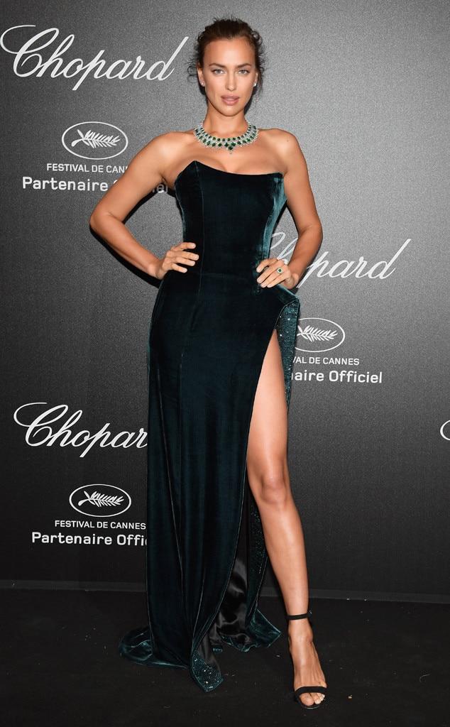 Irina Shayk, Chopard party, 2018 Cannes Film Festival