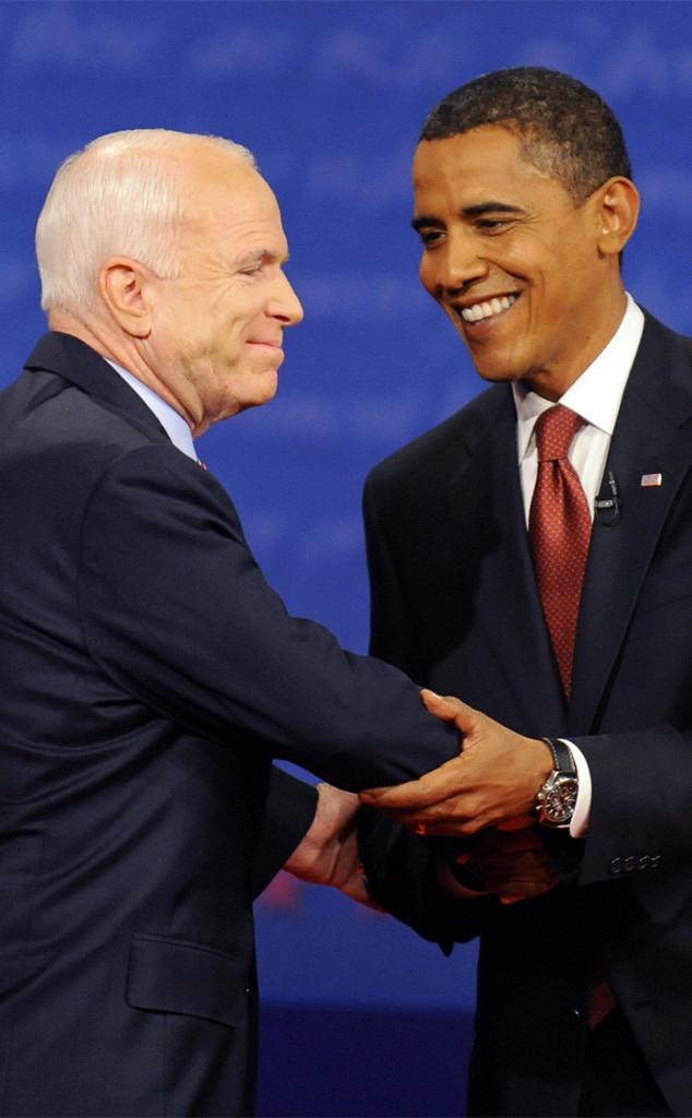 John McCain, Barack Obama, 2008