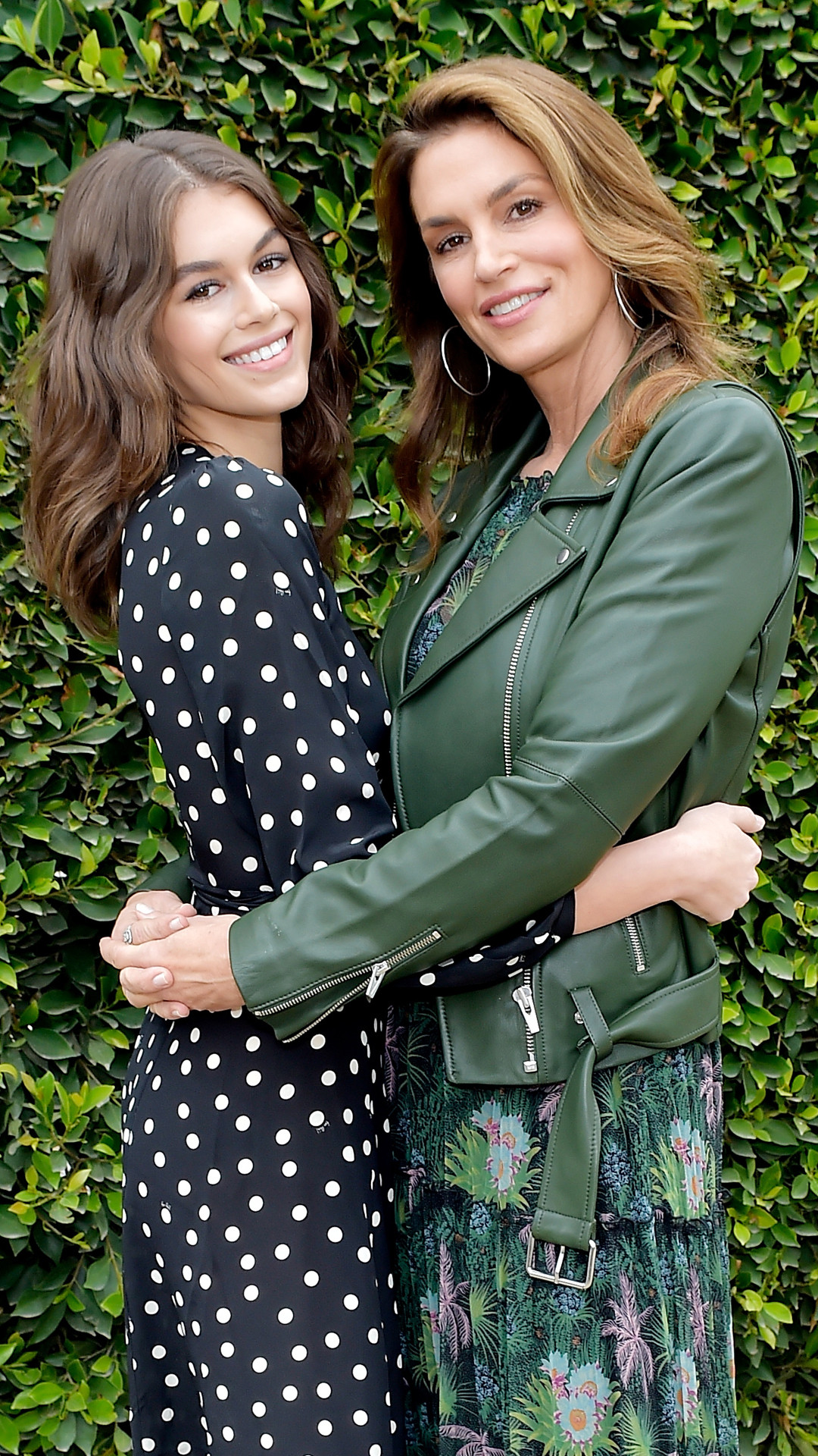 Kaia Gerber, Cindy Crawford, 2018 Best Buddies Mother's Day Brunch
