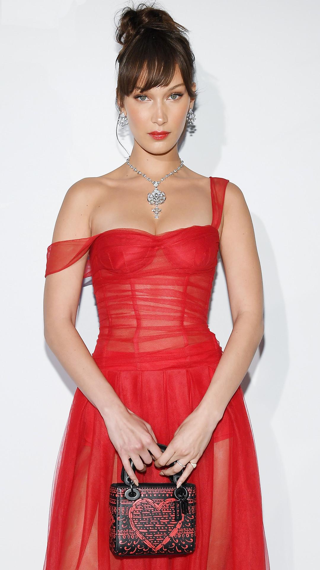 Bella Hadid, Dior, 2018 Cannes Film Festival
