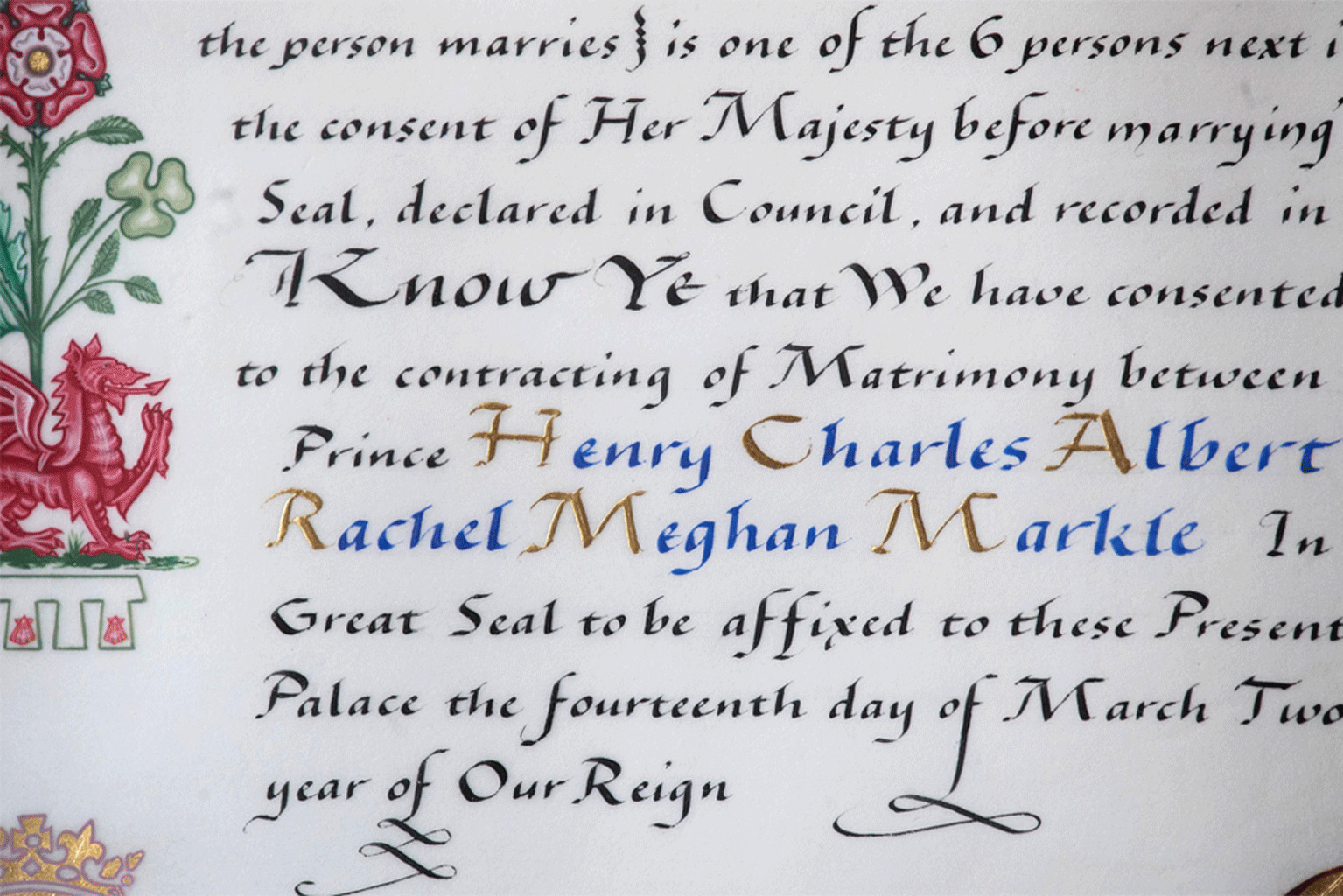 Royal Wedding, Meghan Markle, Queens Consent