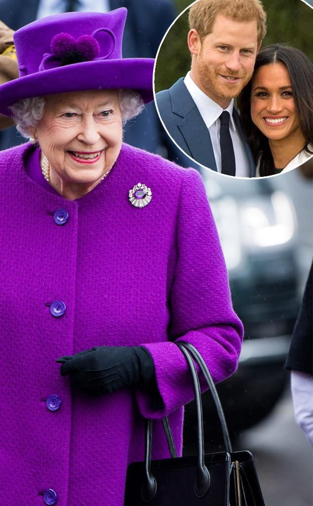 Queen Elizabeth II, Prince Harry, Meghan Markle