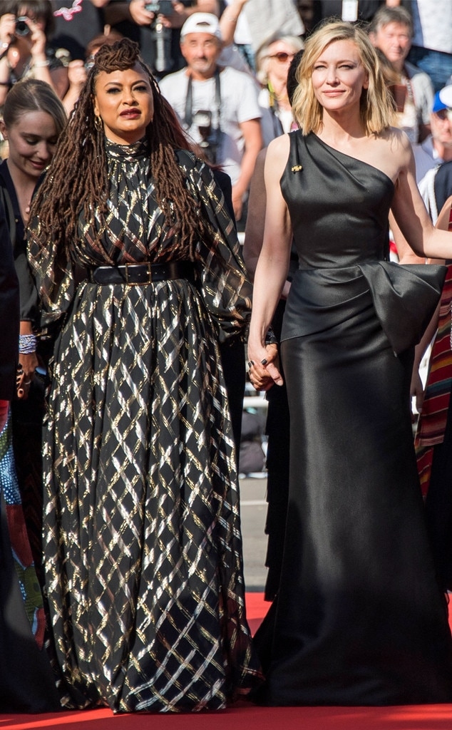 Ava DuVernay, Cate Blanchett, 2018 Cannes Film Festival, Protest