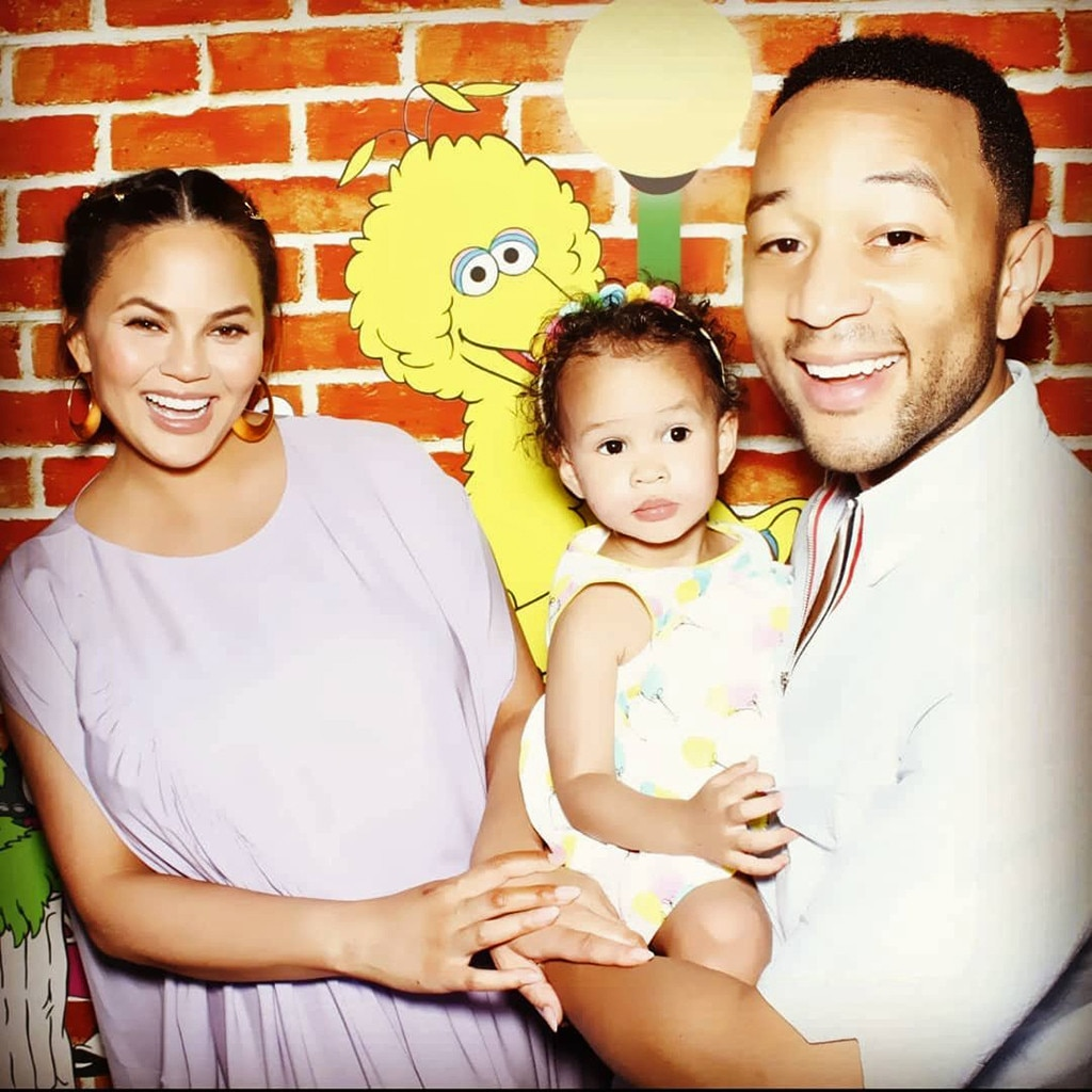 John Legend, Chrissy Teigen, Mother's Day 2018