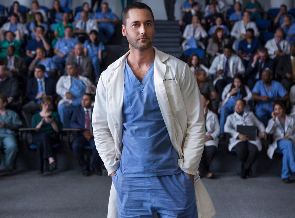Ryan Eggold, New Amsterdam