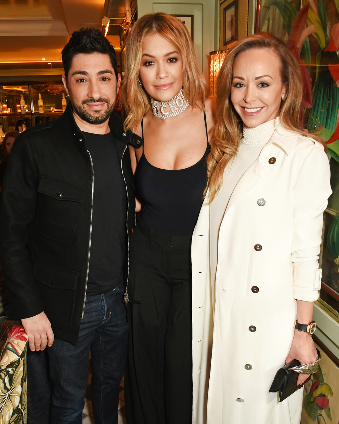 ESC: Tamara Ralph, Michael Russo, Rita Ora