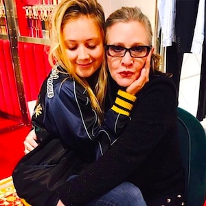 Carrie Fisher, Billie Lourd
