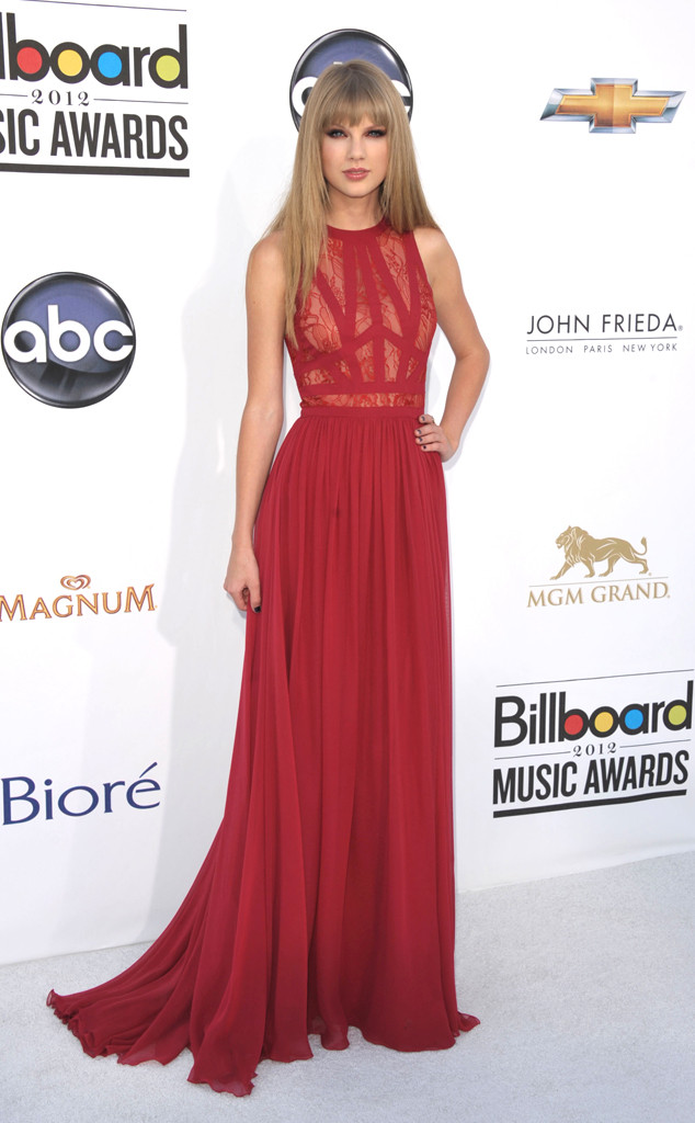 BILLBOARD MUSIC AWARDS, Taylor Swift, 2012