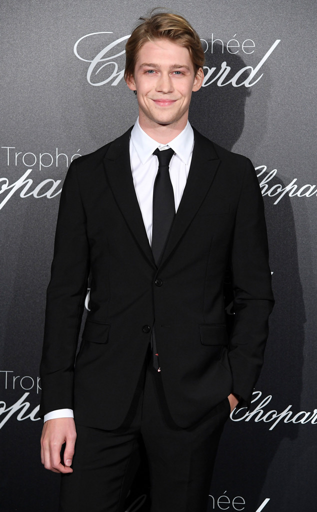 Joe Alwyn, Trophee Chopard, 2018 Cannes Film Festival