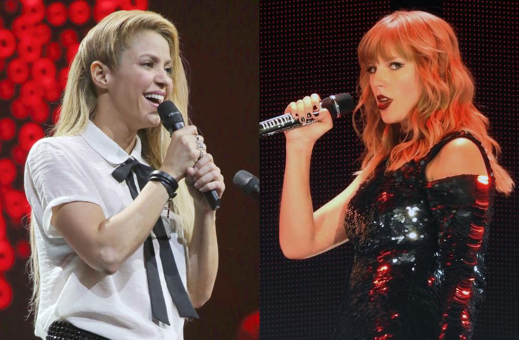 Shakira, Taylor Swift
