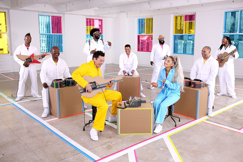 Ariana Grande, The Roots, The Tonight Show Starring Jimmy Fallon
