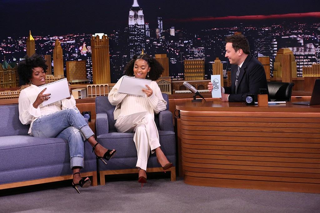Keri Shahidi, Yara Shahidi, The Tonight Show Starring Jimmy Fallon