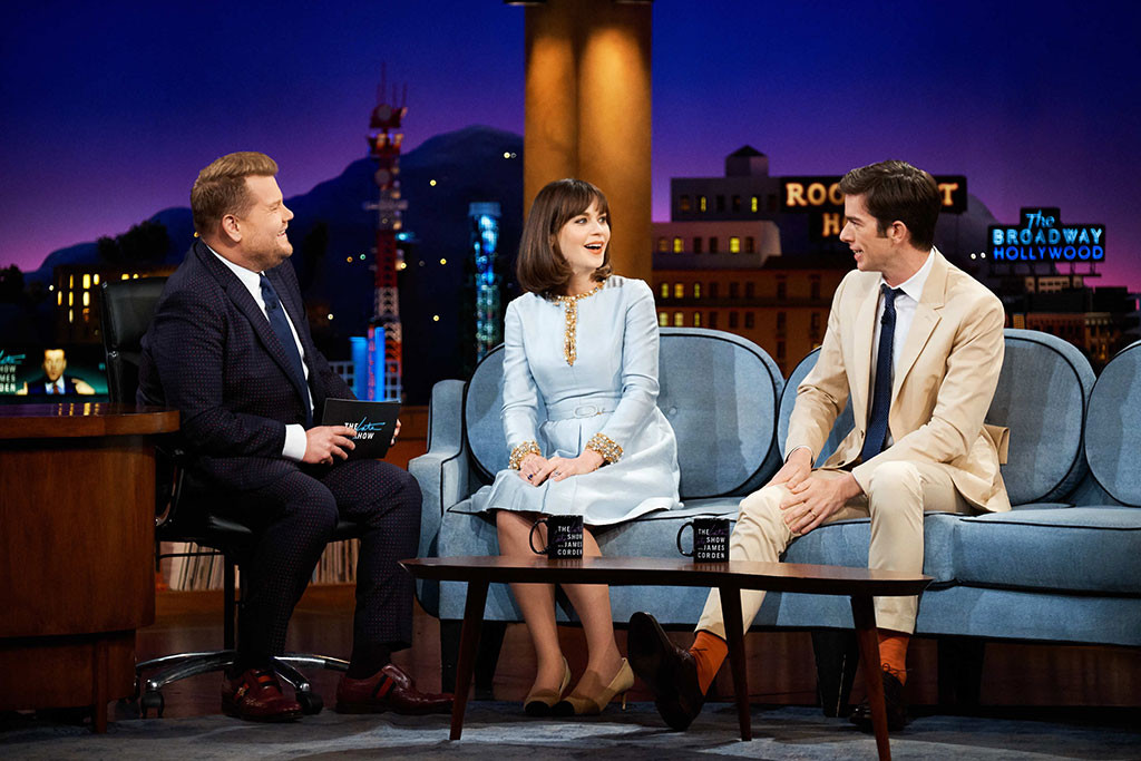 Zooey Deschanel, The Late Late Show