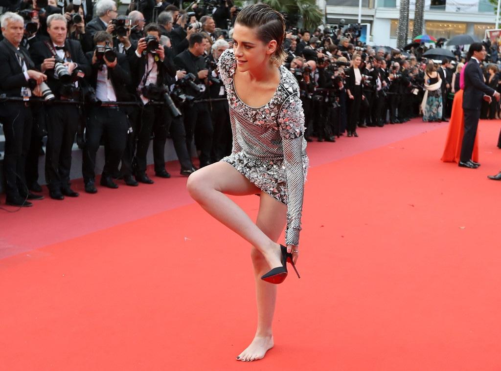 Kristen Stewart, Cannes Film Festival 2018, Shoes