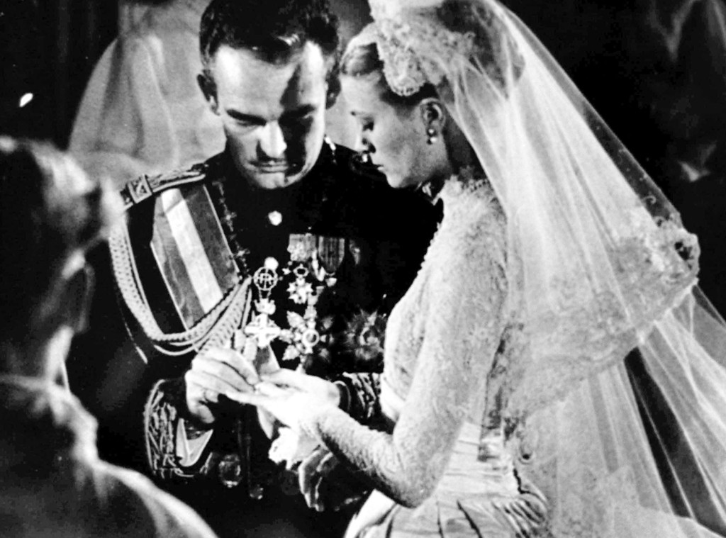 ESC: Grace Kelly, princess Grace, Wedding